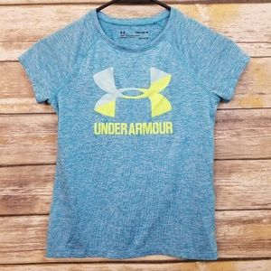 Under Armour Heatgear Loose Fit Tee Girls YMD MED